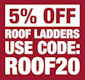 Lyte Aluminium Single Section Roof Ladders