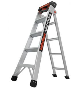 TB Davies Little Giant King Kombo™ Professional 3 in 1 extension ladder