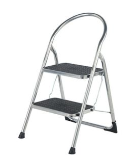 Abru  Chrome Step Stool