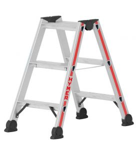Hymer 2x3 Tread Red Line Double sided Step Ladder