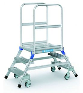 Zarges Double Sided Mobile Access Steps