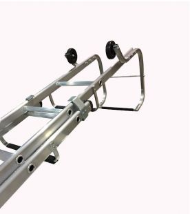 Chase Industrial Aluminium Double Section Roof Ladders