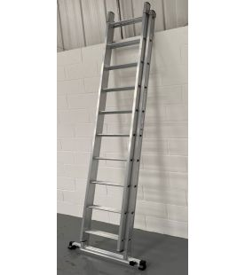 Murdoch Dmax Double Extension Ladder With Deployable Stabiliser Bar