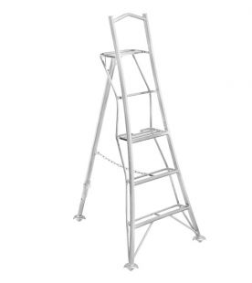 Henchman Platform Tripod Ladder - Semi 1 Leg Adjustable