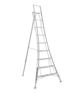 Henchman 2.10m / 7 Tread Professional Platform Tripod Ladder - Fully 3 Leg