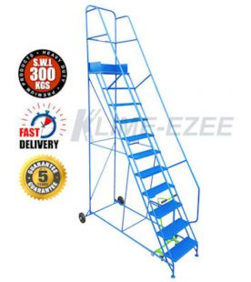 Klime ezee 11 Tread Industrial Mobile Safety Step