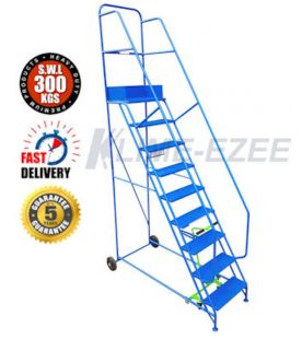 Klime ezee 9 Tread Industrial Mobile Safety Step