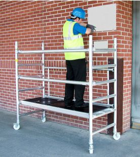 Lyte Hilyte Industrial Folding Tower LIFT System