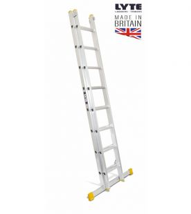 Lyte Double Extension Ladders - EN131 Professional