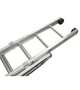 Lyte Double Section Heavy Duty Rope Operated Ladder