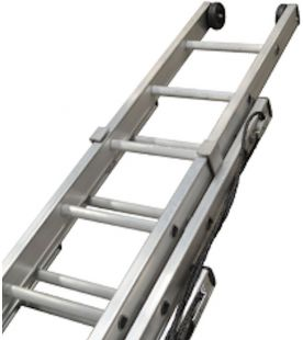 Lyte 3 Section Heavy Duty Rope Operated Ladder