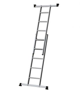 Werner 7101518 5 in 1 Combination Ladder with Platform