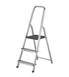 Werner 3 Tread Aluminium Platform Step With High Handrail
