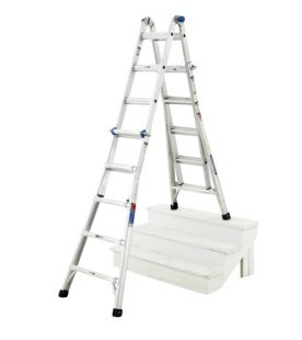 Werner Industrial Telescopic Combination Ladders