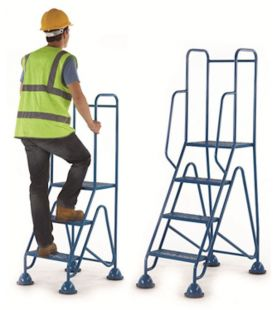 GPC Fort Mobile Domed Feet Steps With Mesh Treads