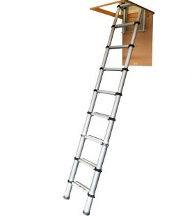 Youngman 2.9m Telescopic Loft Ladder