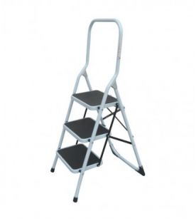 ZARGES 3 Tread Steel Step Stool