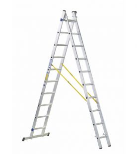 Zarges Combimaster DX 2-Part EN131 Professional Combination Ladder