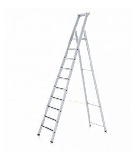Zarges Anodised R13 Step S Step Ladder