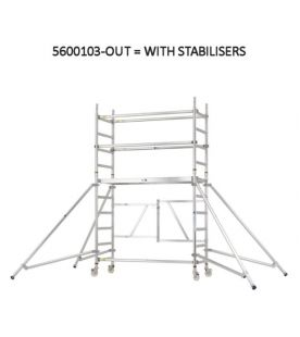 Zarges Reachmaster Folding Scaffold Tower