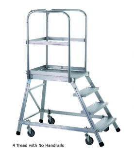 Zarges Single Sided Mobile Access Steps