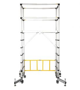Zarges Teletower Aluminium Mobile Scaffold Tower
