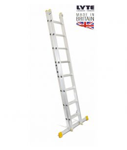 Lyte Double Section Extension Ladders Professional
