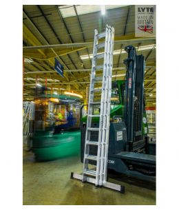 Lyte Triple Section Industrial Professional Extension Ladder