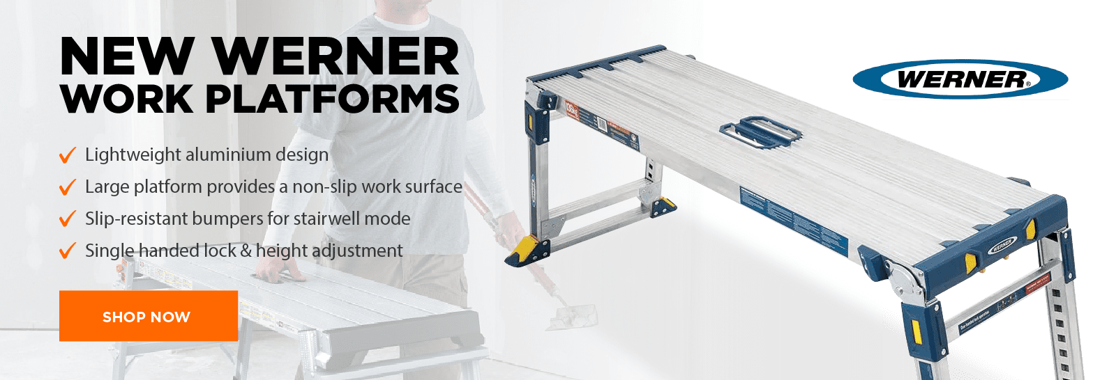 New Werner Work Platforms