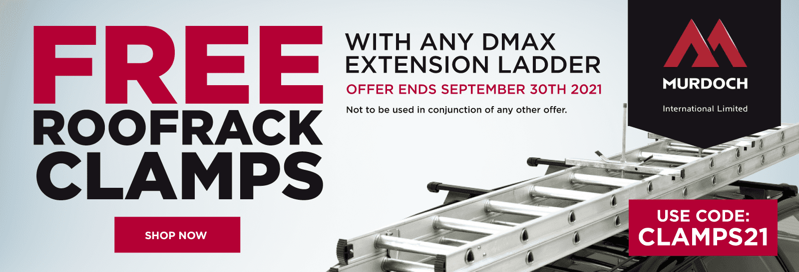 Free Roofrack Clamps