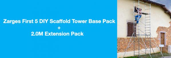 Product Review: Zarges First 5 DIY Scaffold Tower Base Pack