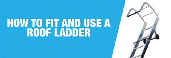 How to install a roof ladder