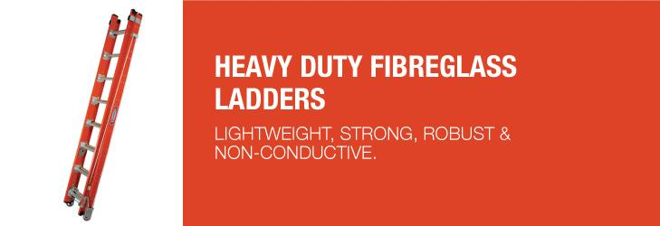 REVIEW: Werner Heavy Duty Fibreglass Ladders