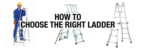 How to choose the right ladder