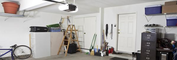 Safest ways to store your ladders: The garage