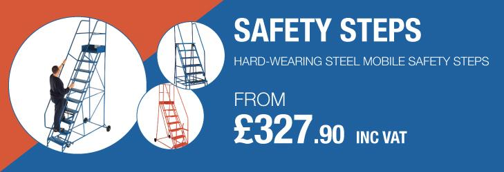 REVIEW: Steel mobile safety steps