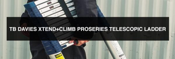Product Review: The XTend And Climb ProSeries Telescopic Ladder