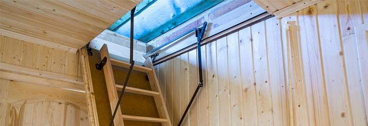 Choosing the correct loft ladder for your home