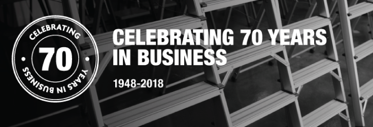 We're Officially Celebrating 70 Years In Business!