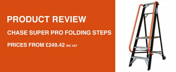 Product Review: Chase Super Pro Folding Steps