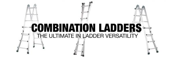 Combination ladders – the ultimate in ladder versatility