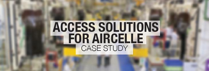 Case Study: Our bespoke access solution for Aircelle