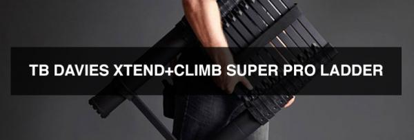 Product Review: The TB Davies Xtend+Climb Super Pro Ladder