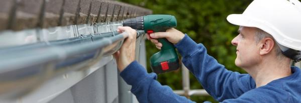 Fitting new guttering the easy way