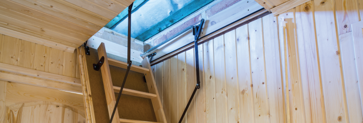 Quick considerations when choosing which loft ladder to buy