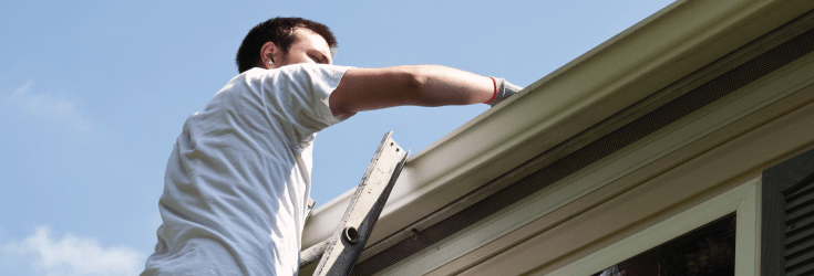 What Ladder Height Do I Need For Cleaning My Guttering?