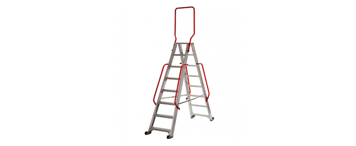 double sided stepladders the-browns-ladders guide werner mobile