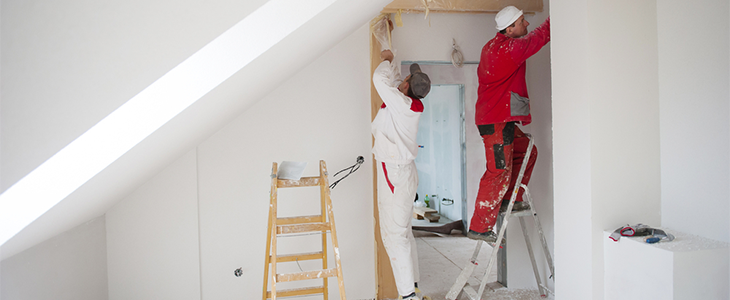 Access solutions for painters and decorators working