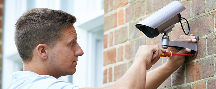 Access solutions for alarm fitters camera