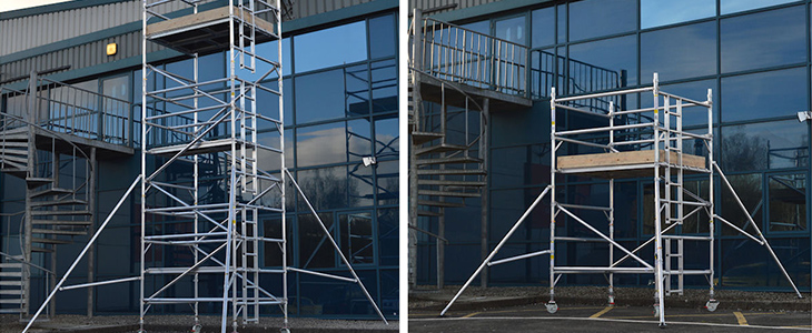 industrial scaffold towers